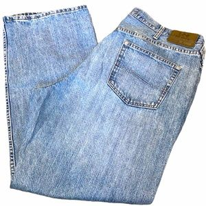 "Lee relax straight leg 42 x 30"" jeans"